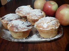 Muffin preparati da @Linda Calinda con questa ricetta http://imenudibenedetta.blogspot.com/2012/10/muffin-alle-mele.html