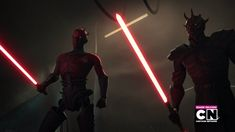 Darth Maul & Savage Opress VS Obi Wan & Adi Gallia
