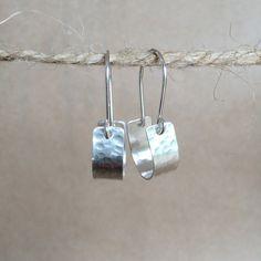 Sterling Silver Hoops, Handmade Sterling Silver, Silver Hoop Earrings, Silver Bracelets, Unusual Jewelry, Modern Jewelry, Metal Jewelry, Jewelry Rings, Necklaces