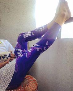 heaven leggings, loving purple