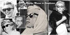 Afbeeldingsresultaat voor marilyn monroe with sunglasses