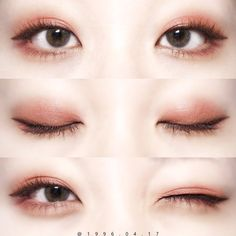 korean makeup – Hair and beauty tips, tricks and tutorials Korean Makeup Look, Korean Makeup Tips, Asian Eye Makeup, Eye Makeup Art, Cute Makeup, Eyebrow Makeup, Lip Makeup, Beauty Makeup, Makeup Looks