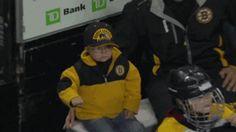 Young Bruins Fan