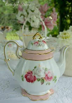 this looks a lot like my vintage china! It would compliment my other pieces well, so I need it