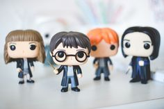 Funko Pop da série Harry Potter. Post sobre com detalhes e fotos no blog Serendipity: http://melinasouza.com/2015/08/24/funko-pop-harry-potter-hermione-ron-snape-e-valdemort/