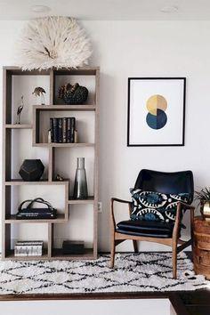 Mid Century Modern Living Room, Living Room Modern, Living Room Decor, Living Rooms, Modern Bedroom, Cozy Living, Small Living, Bedroom Small, Modern Interior Design