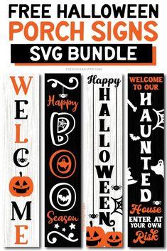 Halloween Porch, Happy Halloween, Halloween Crafts, Halloween Labels, Spooky Halloween, Vintage Halloween, Halloween Pumpkins, Halloween Vinyl, Animated Gifs