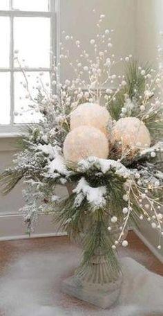 Mooie decoratie voor in huis ... met de kerst eenvoudig gemaakt .