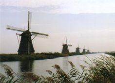 famous dutch windmills
