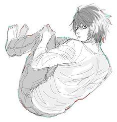❥ L Lawliet    (♡_♡)    Death Note