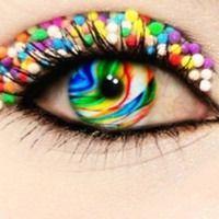 Rainbow Eyes....