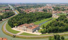 Villa Pisani in the town of Stra in the Venice Province of Veneto. 45° 24′ 32.4″ N, 12° 0′ 43.2″ E
