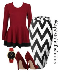 """Apostolic Fashions #1172"" by apostolicfashions on Polyvore featuring Gianvito Rossi and Larsson & Jennings"