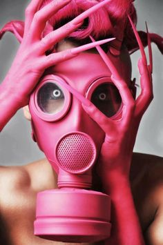 I've been seeing a lot of gas masks and plague masks lately