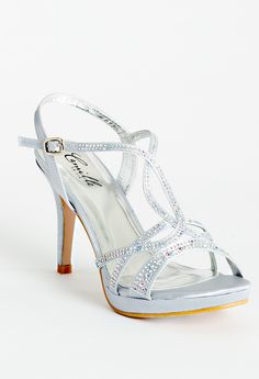 High heel rhinestone