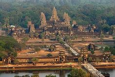Angkor Wat temple in Cambodia, this is one place I really would like to go visit.