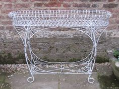 antiques atlas 19thc wire work plant stand