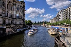 Mitte, the Dom on left, Spree - Christian Antoine: Berlin - the place to be
