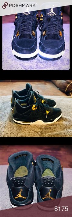 "a6c9ebe42d01 Nike Air Jordan 4 Retro ""Royalty"" Men s size 10. No original box."
