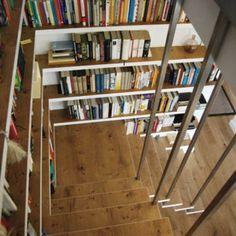 Book Stairs by DREIHAUSFRAUEN - Bookcase Porn
