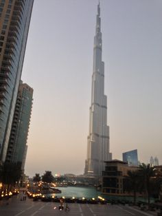 A view of the Burj Khalifa
