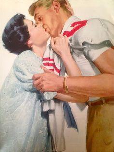 Illustration by Al Buell, 1953