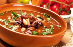 Category archive for Sopas e Caldos. Bean Soup Mix Recipe, 15 Bean Soup, Bean Soup Recipes, Vegetable Soup Recipes, Healthy Soup Recipes, Cooking Recipes, Mediterranean Soup, Food For Pregnant Women, Nutritious Meals