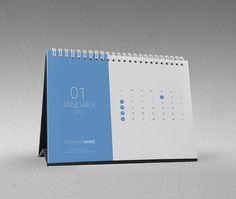 Desk Calendar 2015 Template on Behance