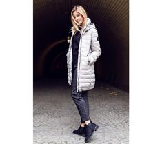 Dámský kabát Sam 73 | modino.cz #modino_cz #modino_style #style #fashion #lookbook Fashion Lookbook, Style Fashion, Winter Jackets, Winter Coats, Winter Vest Outfits, Fashion Styles