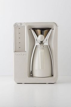 Bodum's Bistro Brew Coffee Maker, $250.00 (also in red)  (For Ben's coffee, but my kitchen!)