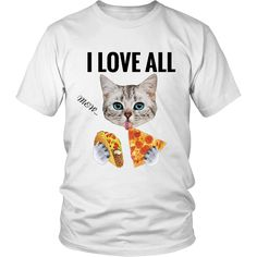 I Love All District Unisex T-Shirt (12 colors)