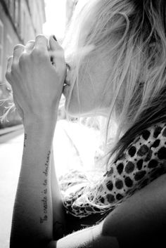 small tattoo | Tumblr....love it here...maybe get a prayer or scripture there...