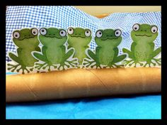 Simple Storytime Puppet Songs and Skits: Five Green and Speckled Frogs (Flannel Friday)