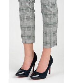 Tmavomodré semišové lodičky 9001-51BL Pumps, Heels, Heeled Mules, Fashion, Heel, Moda, Fashion Styles, Pumps Heels, Pump Shoes