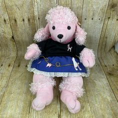 Fat Raccoon, Star Wars Galactic Heroes, Wolf Husky, Great Wolf Lodge, Pink Poodle, Girl And Dog, Kids Toys, Plush, Dogs