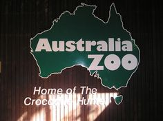 On one of my visits to Steve Irwin's Australia Zoo