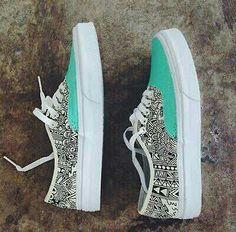 Cute vans. #Awesome #Girly #Cute