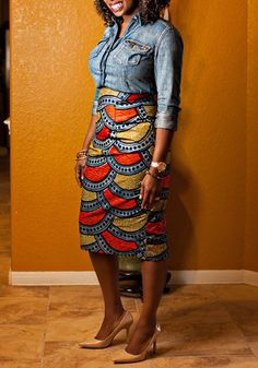 African Clothing Riche New Limited Polyester 2017 Women's Fashion Products Printed Bag Hip Skirt African Women Clothing African American Fashion, African Inspired Fashion, African Print Fashion, Fashion Prints, African Prints, African Wear, African Attire, African Women, African Dress