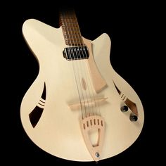 This Finely Crafted Instrument Is A Kuun Roxy Jazz Archtop Guitar Built By Luthier Murray At His Small Shop Outside Of Johannesburg South Africa