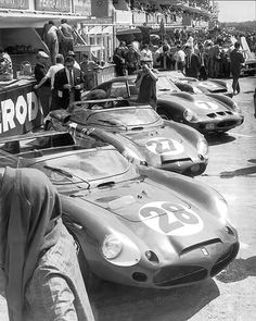 Team Ferrari , Le Mans 1962.
