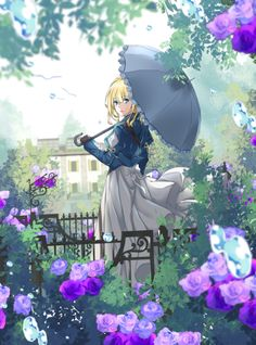 Safebooru is a anime and manga picture search engine, images are being updated hourly. Manga Anime, Manga Girl, Violet Evergarden Wallpaper, Violet Evergreen, Violet Evergarden Anime, Kyoto Animation, Animes Wallpapers, Manga Pictures, Anime Artwork