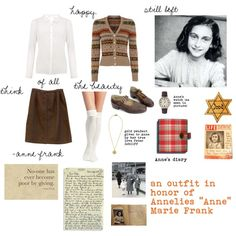 i made this outfit in memory of a life lost in a horrible event. a life who had too much ahead. a too young victim of the Holocaust. i also am doing this in mem...
