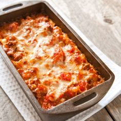 Lasagne for Two from America's Test Kitchen