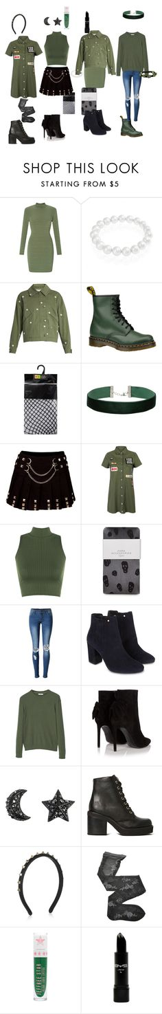 """""""squad outfits #2"""" by youngpunk6 on Polyvore featuring Miss Selfridge, Bling Jewelry, STELLA McCARTNEY, Dr. Martens, WithChic, WearAll, Zara, Monsoon, MANGO and Yves Saint Laurent"""