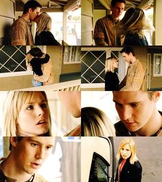 Veronica Mars and Logan Echolls (Veronica Mars) I'd been waiting for this to happen for a while and when it finally did i basically cheered