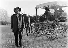 Quanah Parker on the Matador Ranch in 1910. Why he only brought three of his eight wives along is not known.