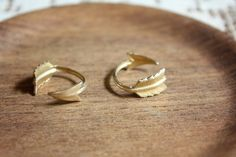 First Knuckle Adjustable Arrow Rings   Set of by ChristineDomanic, $24.00