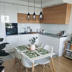 These Scandinavian Kitchen Ideas Perfectly Capture Nordic Living Scandinavian Kitchen Design Ideas For A Stylish Cooking . Kitchen Buffet, Kitchen Dining, Kitchen Decor, Kitchen Island, Dining Rooms, Kitchen Pantries, Kitchen Layout, Kitchen Ideas, Craftsman Kitchen