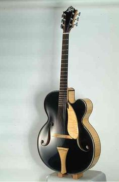 Balazs Prohaszka Archtop Guitar - Made in Northern Ireland Jazz Guitar, Guitar Art, Guitar Strings, Music Guitar, Cool Guitar, Playing Guitar, Unique Guitars, Custom Guitars, Vintage Guitars