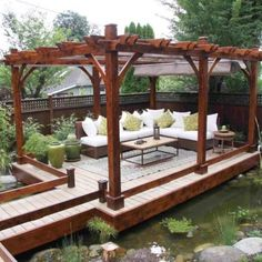 37 Pergola Plan Designs & Ideas [Free]  #DIY #pergola #ideas